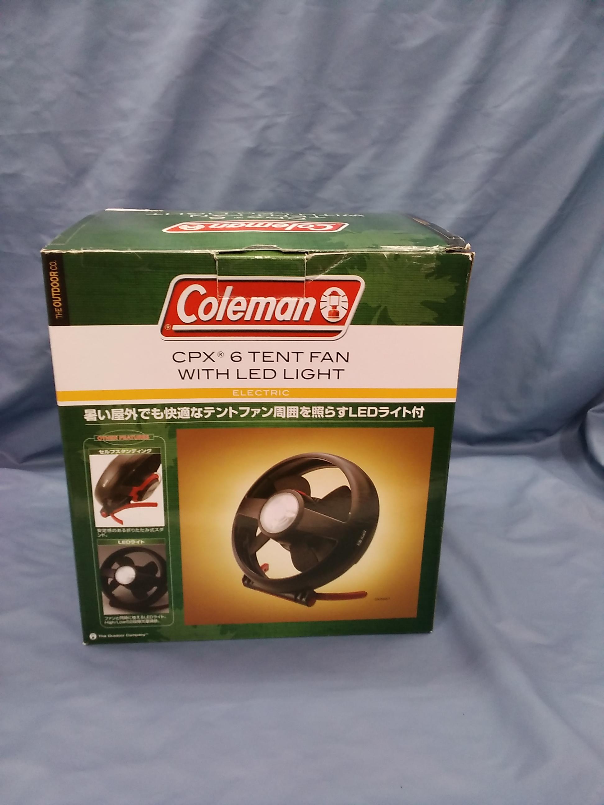 テントファン|COLEMAN