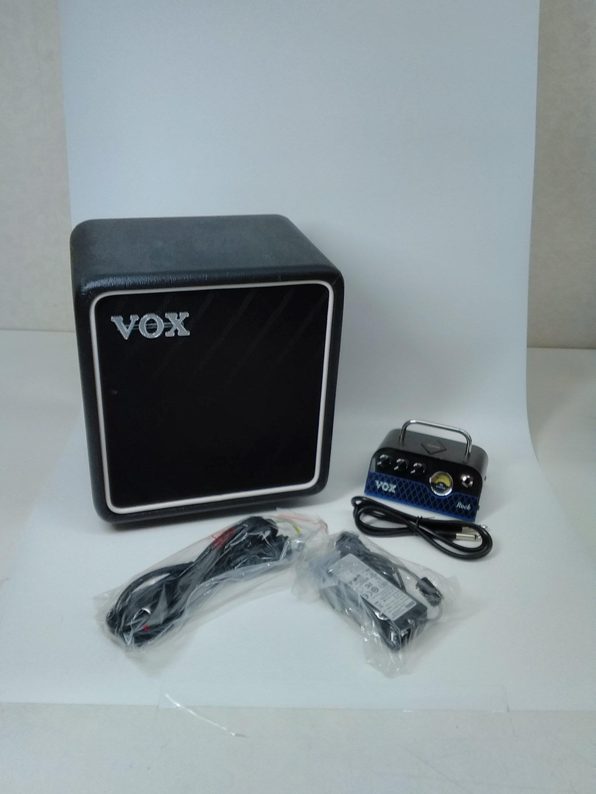 アンプヘッド&スピーカーBOX|VOX