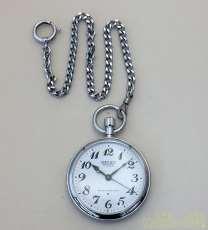 手巻き 鉄道時計|SEIKO