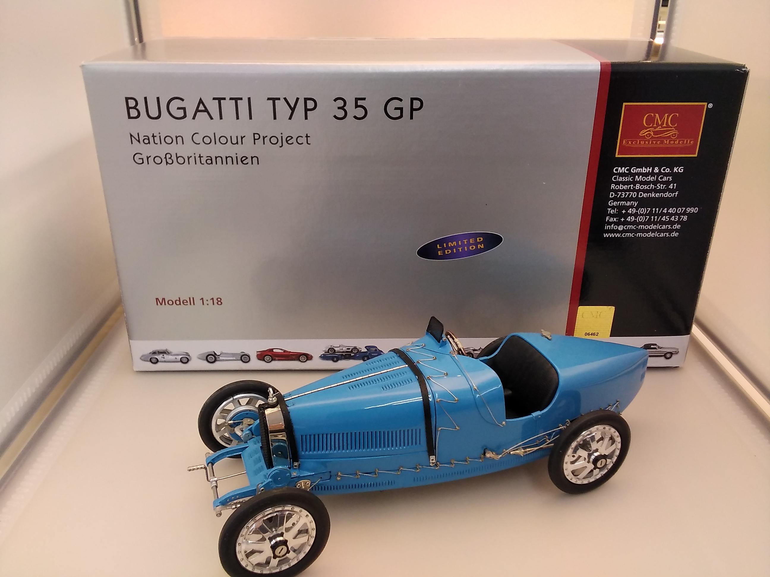 ブガッティ TYPE35GP|CMC