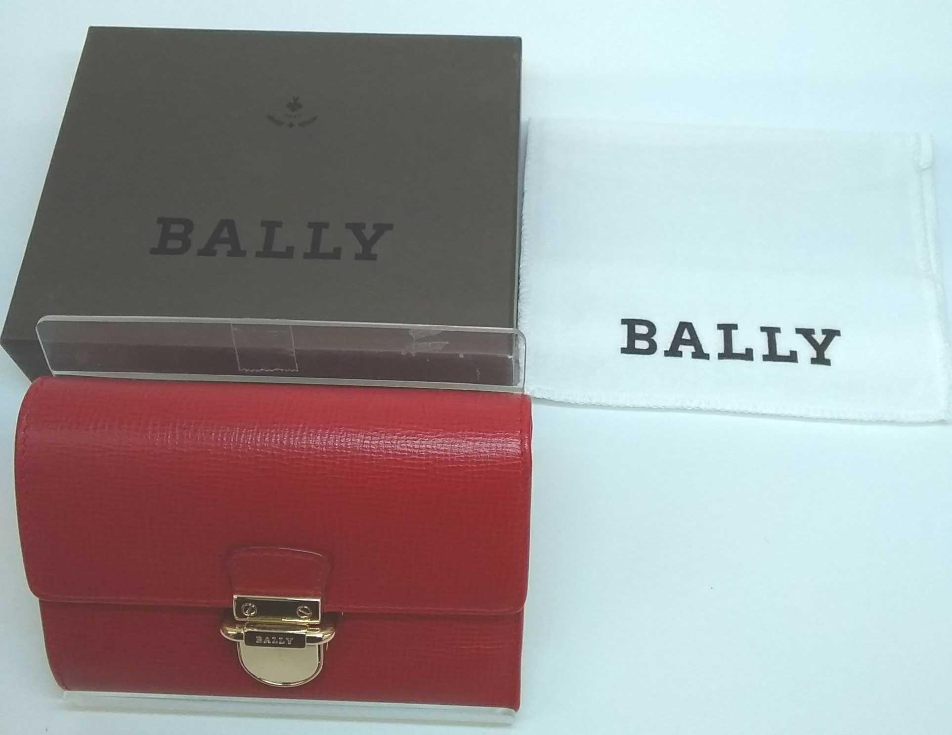 折財布|BALLY