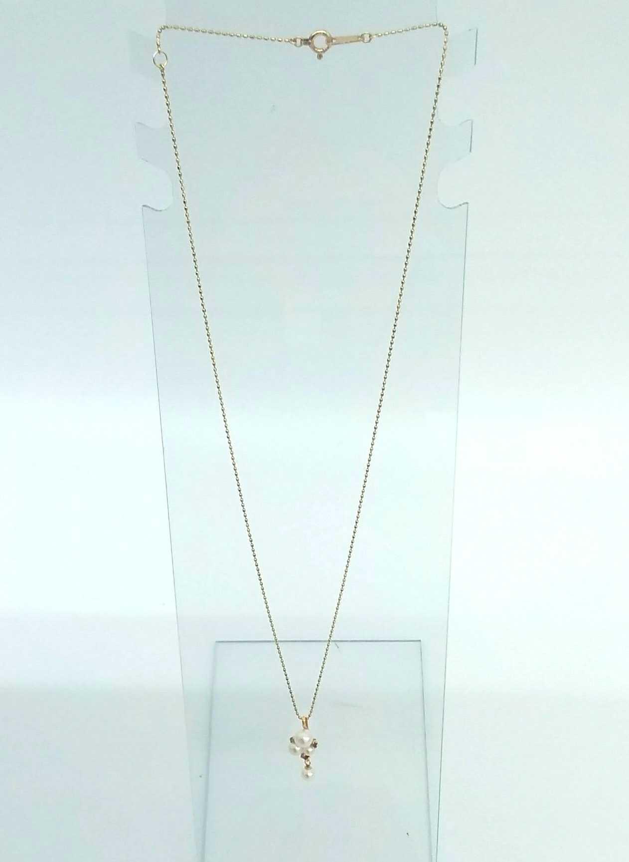 K10ネックレス|宝石付きネックレス
