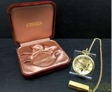 CITIZEN 懐中時計(手巻き)|CITIZEN
