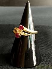 ダイヤ付リング|宝石付きリング