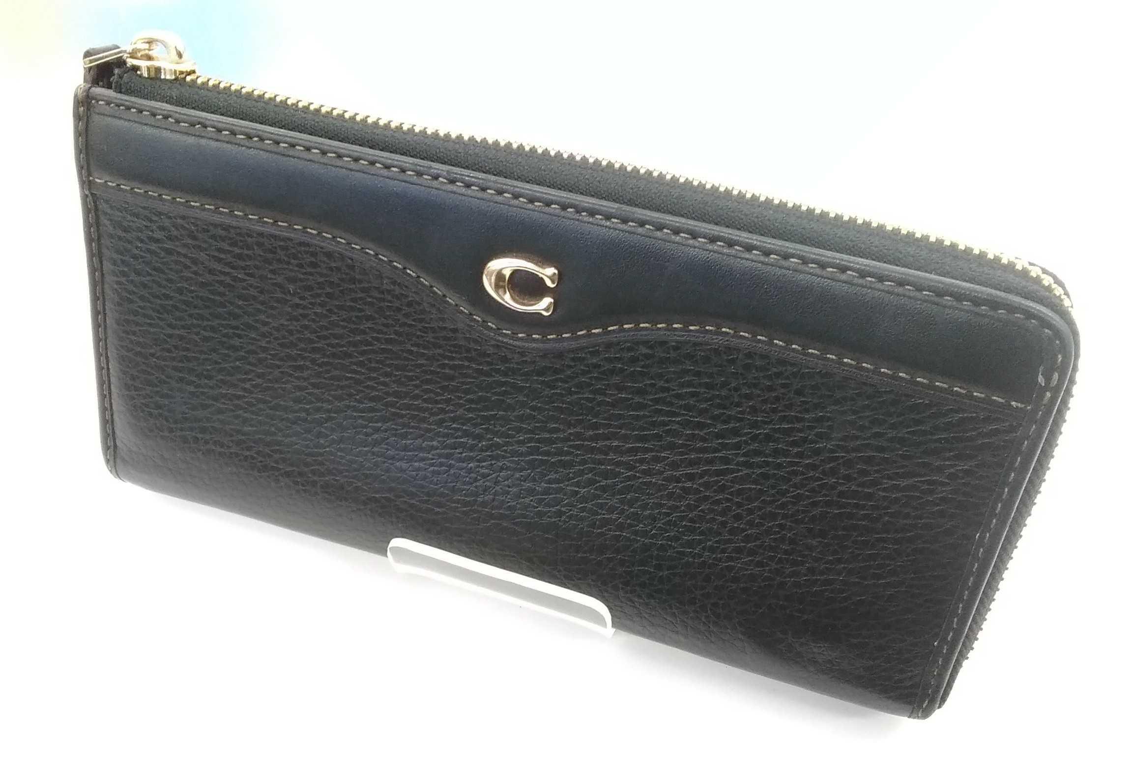L字ファスナー財布|COACH