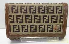 ズッカ柄二つ折り財布|FENDI