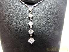 PT950/PT850ダイヤネックレス|宝石付きネックレス