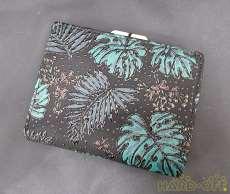 二つ折りがま口財布|印傳屋