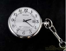 レグノ ソーラー電波 懐中時計