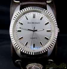 クォーツ・アナログ腕時計|REDMONKEY