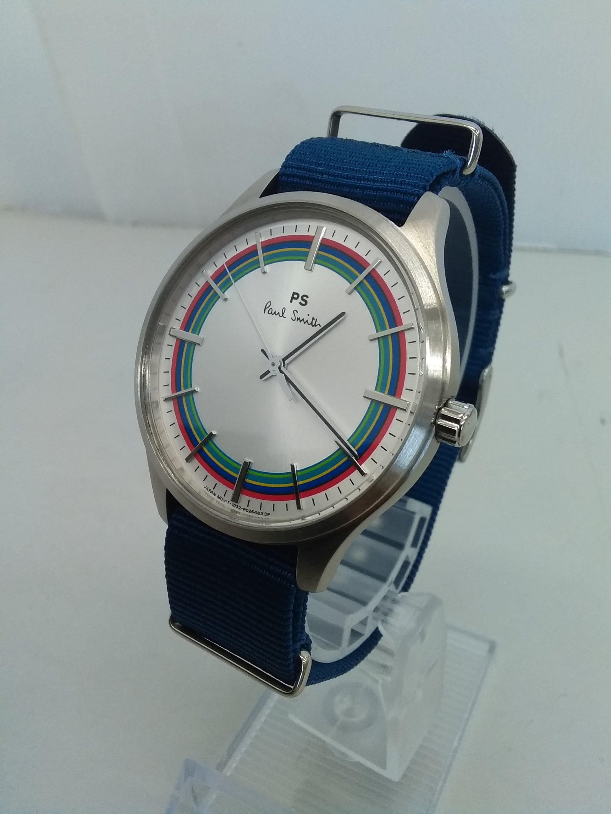 クォーツ・アナログ腕時計|ポールスミス