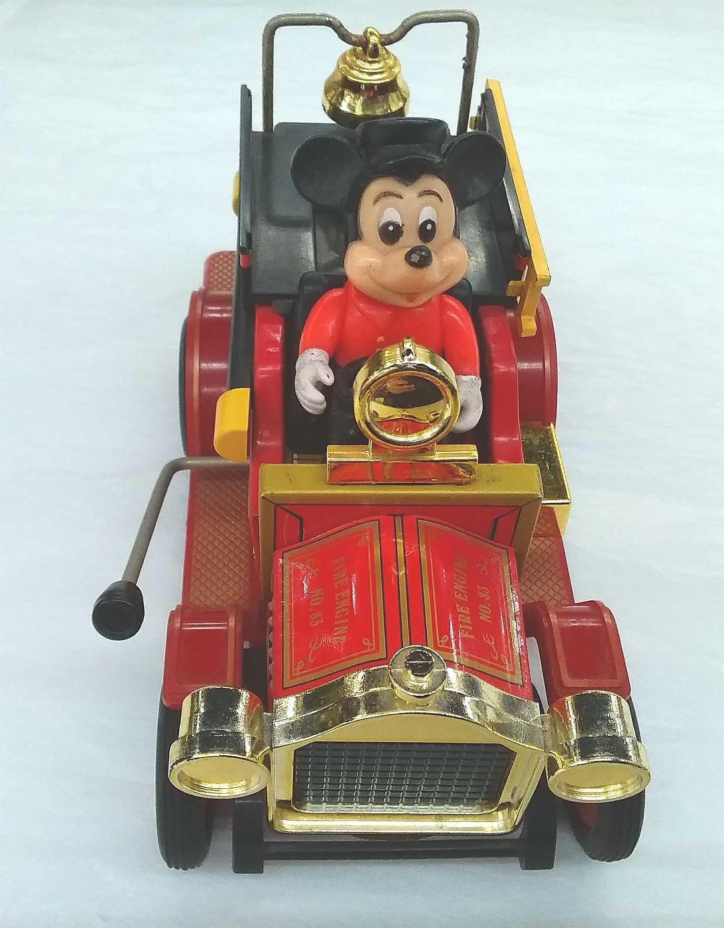 消防車|ミッキー