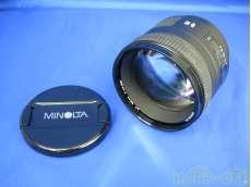 ミノルタ/中望遠単焦点レンズ|MINOLTA