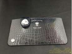 牛革クロコ型押財布|A.D.M.J