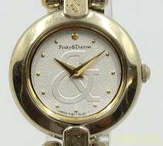 クォーツ・アナログ腕時計 PINKY&DIANNE