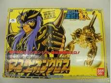 聖闘士星矢  聖闘士聖衣大系 蠍座の黄金聖衣 スコーピオンクロス ミロ