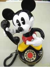 レトロ ミッキーマウス 電話機|選択不可