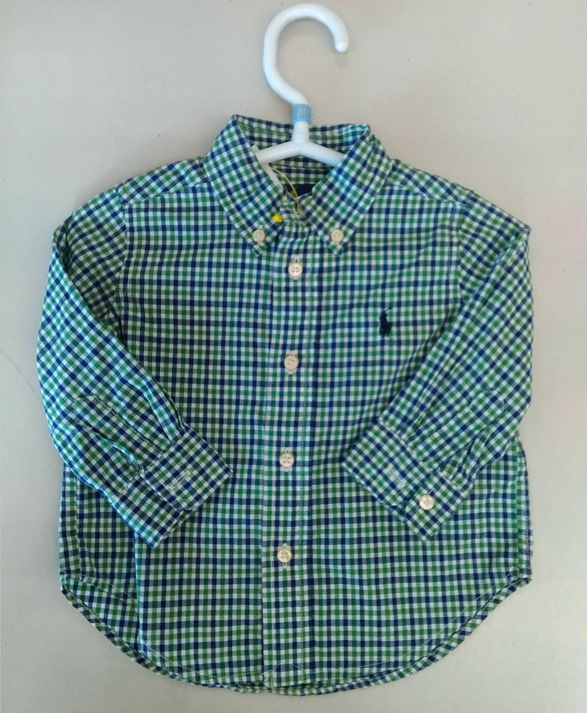 襟付き長袖シャツ|ラルフローレン