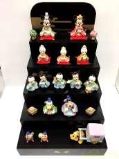 おひなさま人形飾りセットひな壇|DISNEY