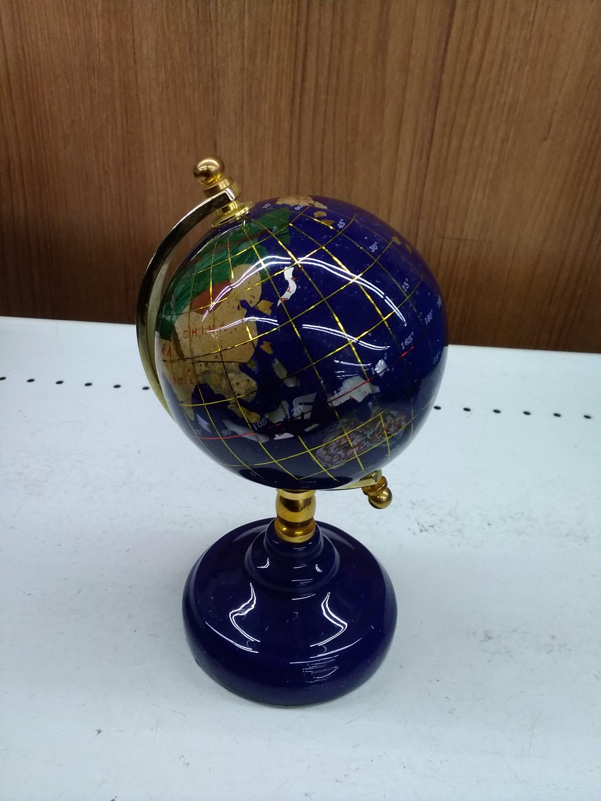 地球儀|大理石