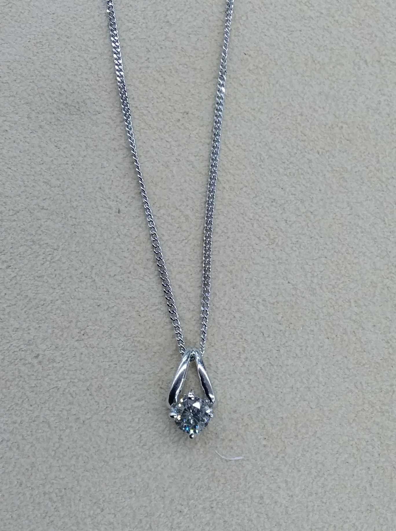 ネックレス|ダイヤ0.32