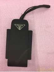 プラダ 携帯ホルダー ブラック|PRADA