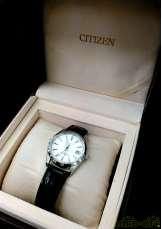 白文字盤腕時計|CITIZEN