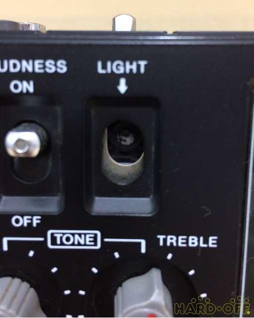 LIGHTスイッチ欠損