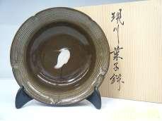 6寸菓子鉢 白鷺|臥牛窯