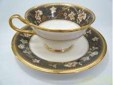 サブライムティー・コーヒー碗皿(墨色)|NORITAKE