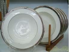 CHATELAINE PLATINUMスープ皿|Noritake