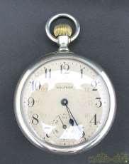 懐中時計 青針 名鐵局 酉 1076|WALTHAM