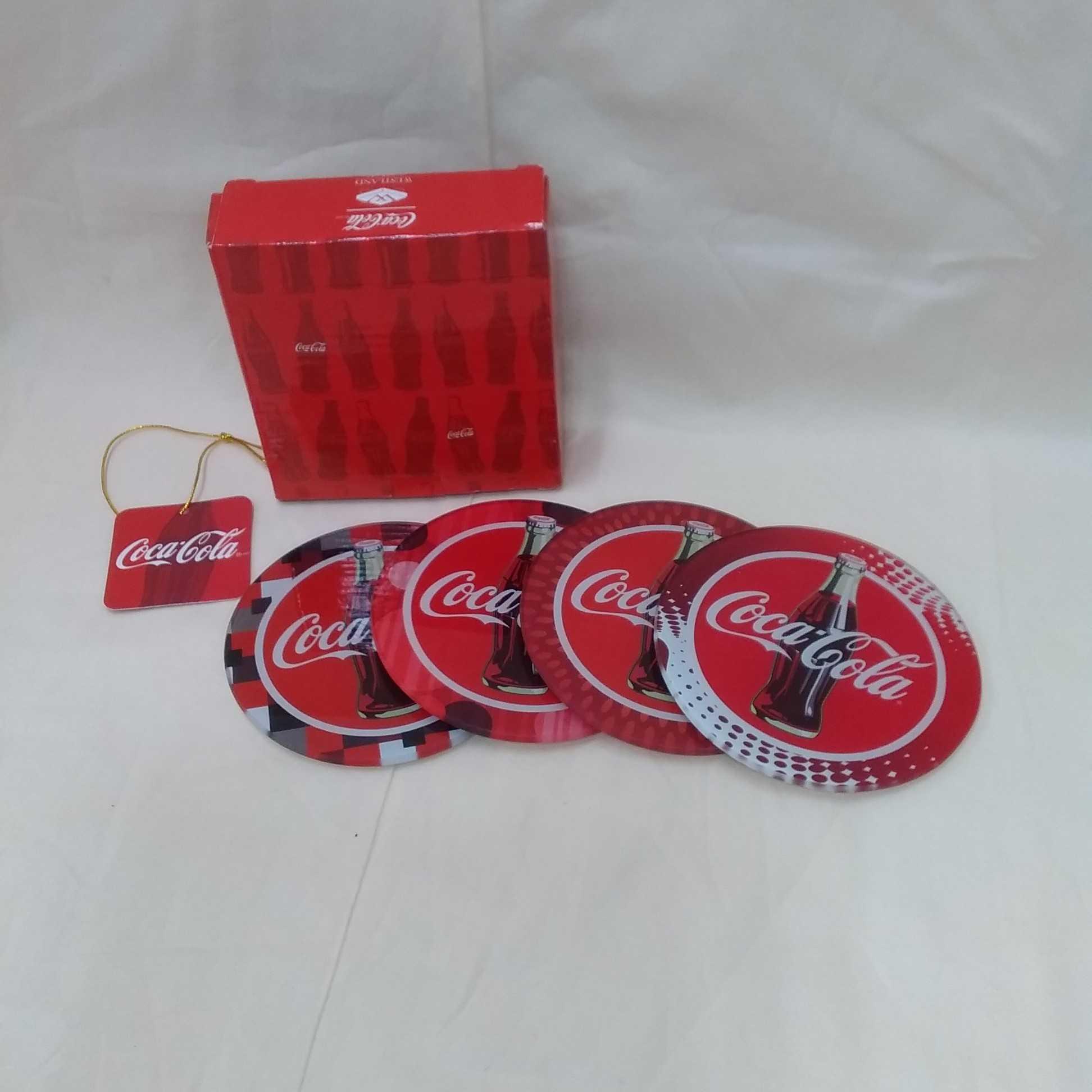 コースター 4枚セット|コカ・コーラ