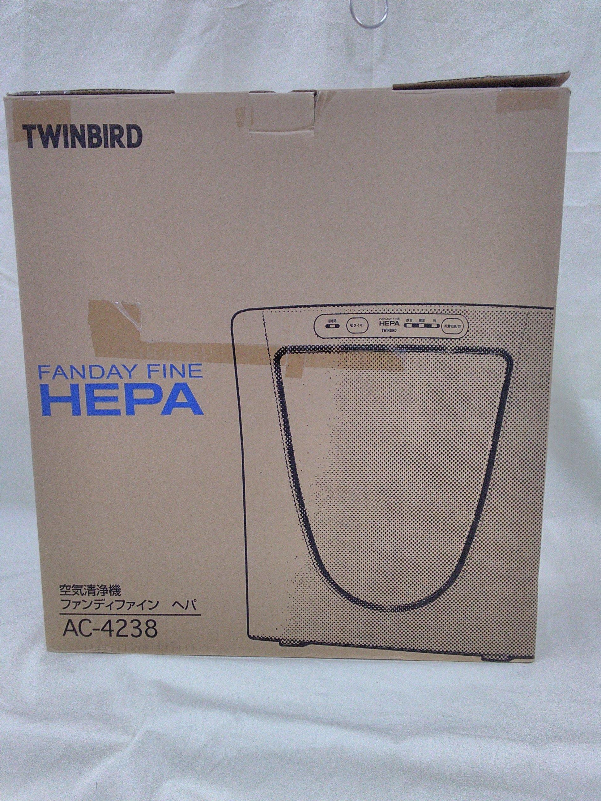 【未使用】空気清浄機|TWINBIRD