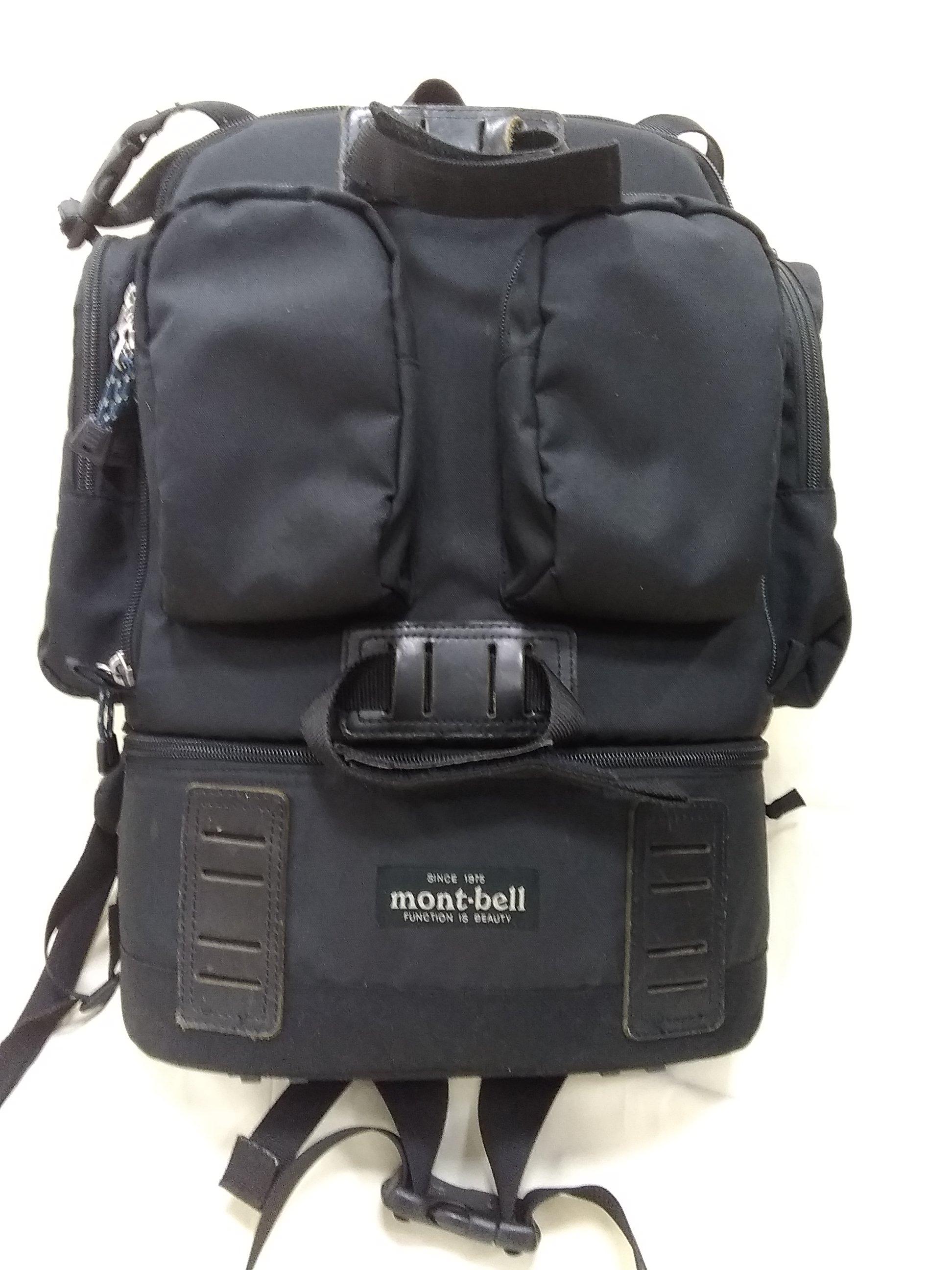 カメラリュック MONT-BELL