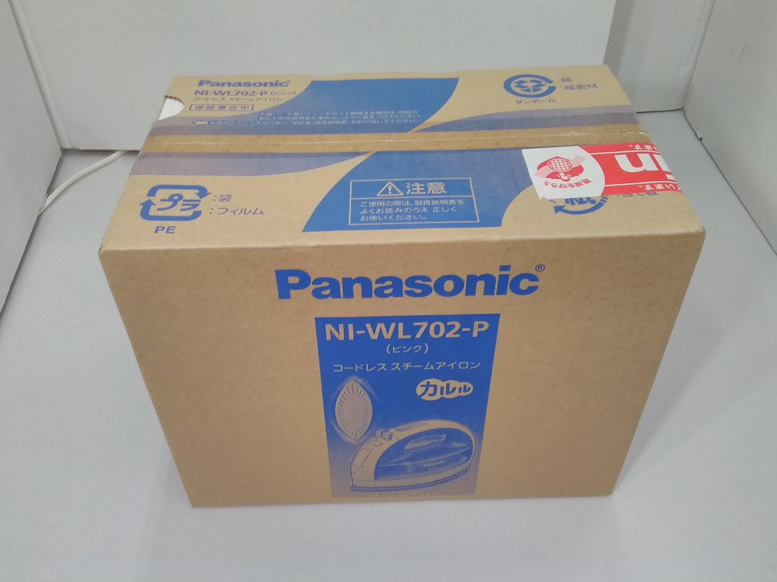 コードレススチームアイロン|PANASONIC