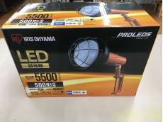5500lm LED投光器 LWT-5500CK|IRIS OHYAMA