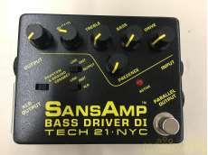 エフェクター sansamp BASS DRIVER|TECH21