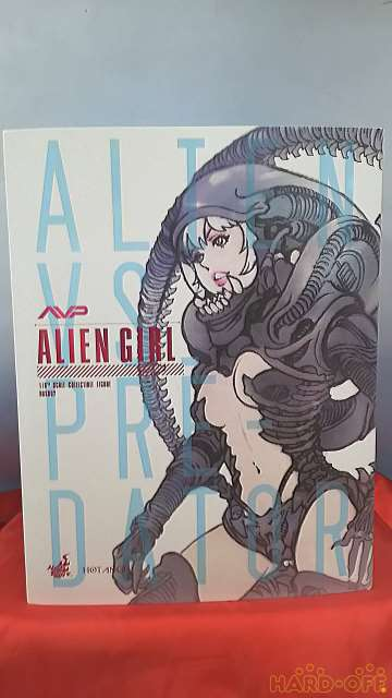 Hot Toys Avp Alien Girl American Comic Movies Limited Edition Series Collection