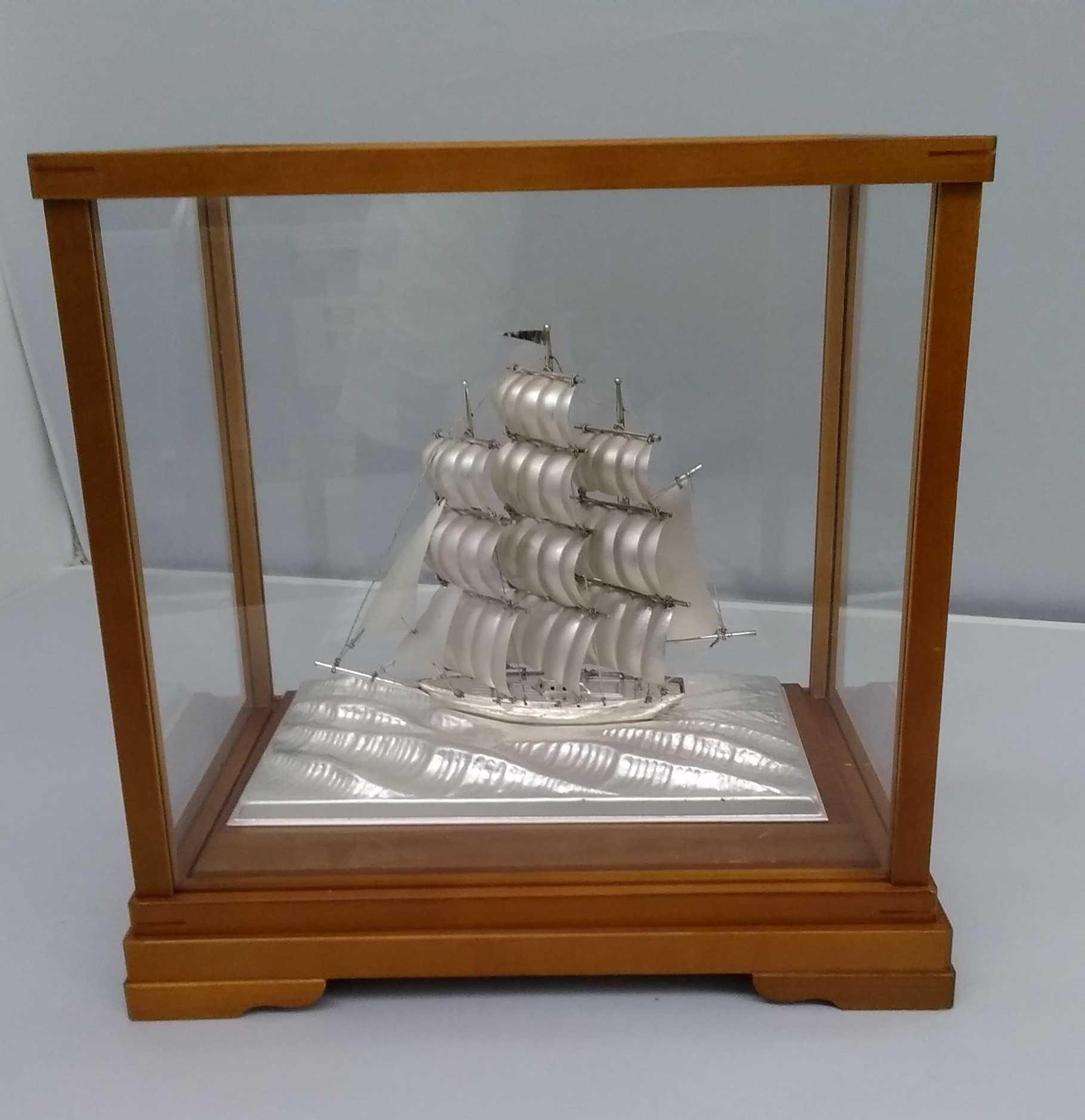 帆船 武比古 銀製品|武比古