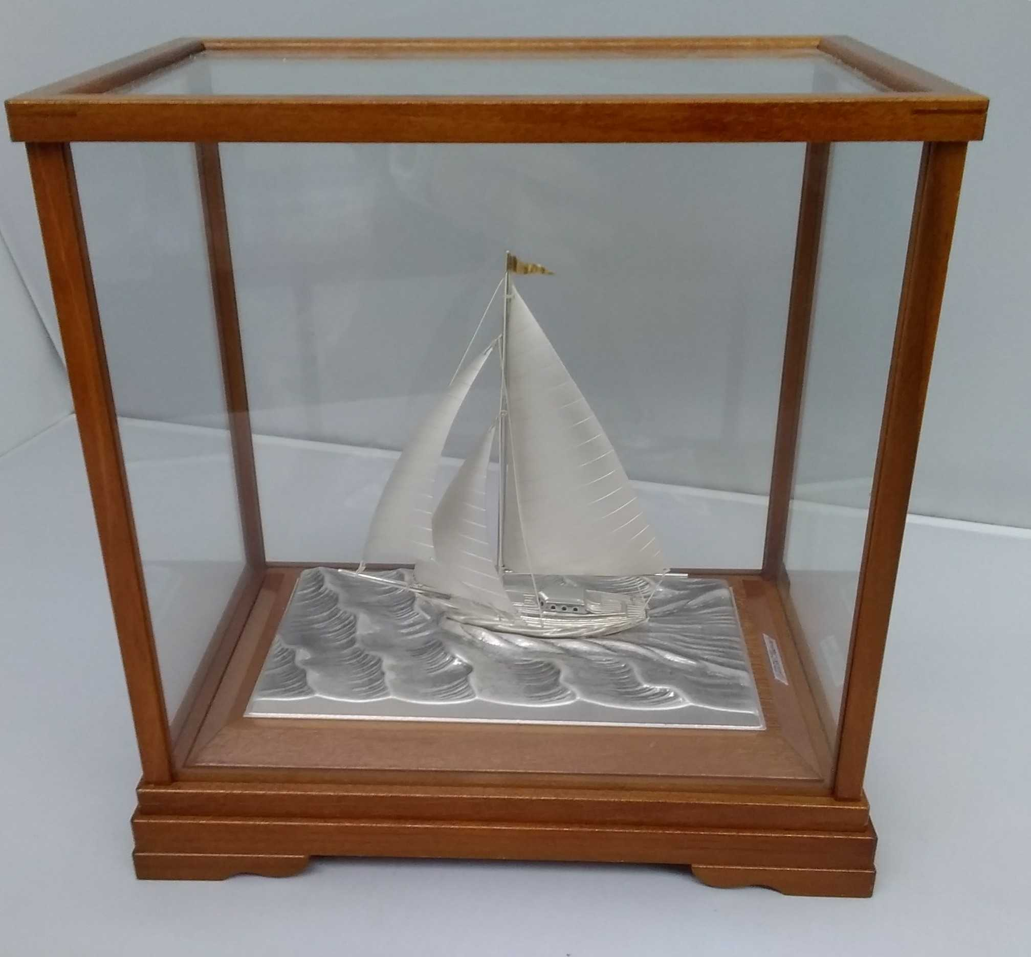 銀製ヨット 武比古 銀製品|武比古
