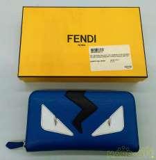 BUGSラウンドファスナー長財布|FENDI