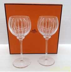 ワイングラス 2客|HERMES