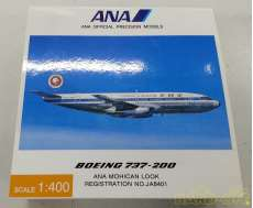 1/400 ANA BOEING737-200 JA8401 モヒカンジェット|全日空商事