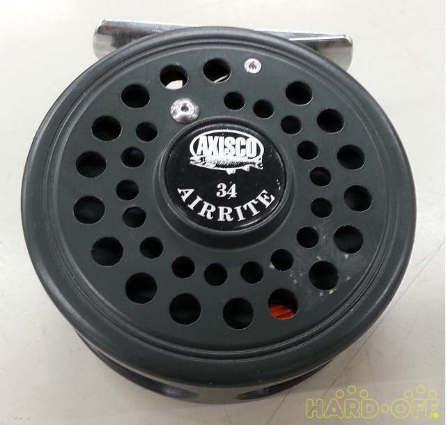 AXISCO Fly Fishing Reel AIRRITE 34 Outdoor Sports Leisure Fishing Parts