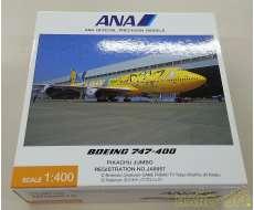 1/400 ANA B747-400 ピカチュウジャンボ JA8957 全日空商事