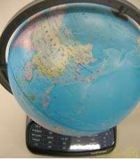 しゃべる地球儀