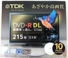 DVD-R DL 10本パック TDK
