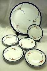 大皿、小皿5枚セット|香蘭社