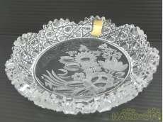 未使用 マイセンクリスタル 灰皿|Meissen